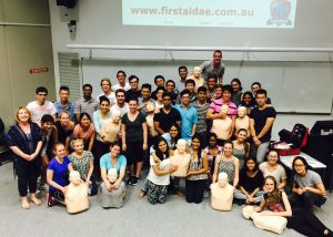 Griffith university first aid training