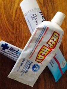Updating your first aid kit