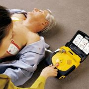 Lifepak Plus defibrillator use