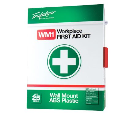 wall mount first aid kit