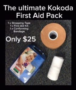 kokoda challenge first aid pack