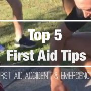 top five first aid tips