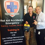 Mayor Tom Tate CPR Trained by Scott Whimpey