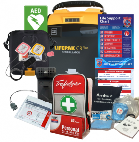 Workplace LifePak CR Defibrillator pack