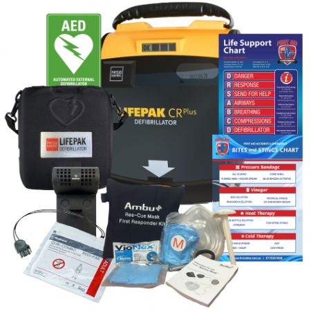 Workplace and Club Defibrillator Pack