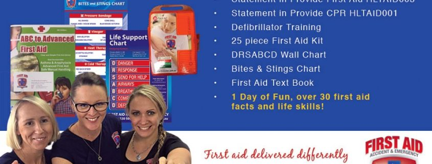first aid course gold coast banner