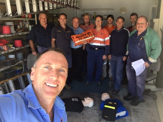 Lindsey & Coastline Electrical CPR Training