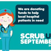 scrub up September with first aid accident and emergency