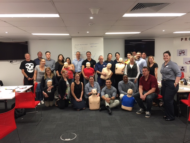 Mantra Group First Aid CPR Training