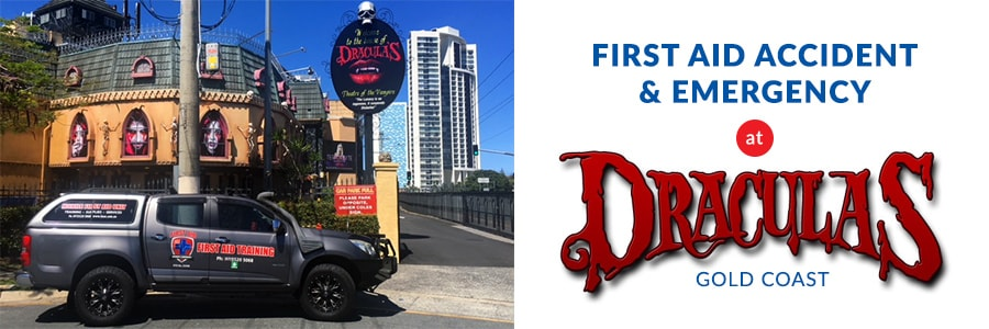 first aid cpr training at draculas gold coast