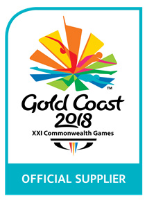 commonwealth games official supplier logo