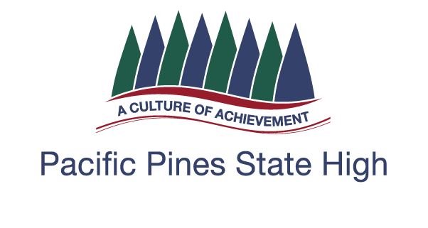 Pacific Pines State High School Logo