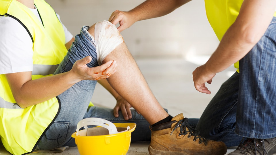 construction industry first aid