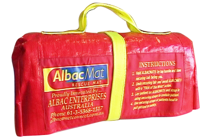 Albac rescue mat pack