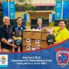 Delivering defibrillators to GC2018 Comm Games