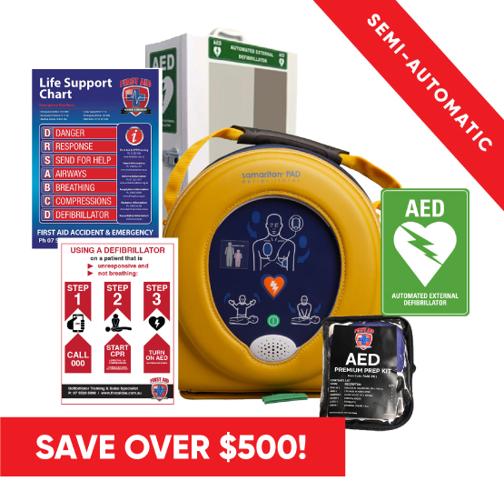 Heartsine 350P Defib pack free delivery