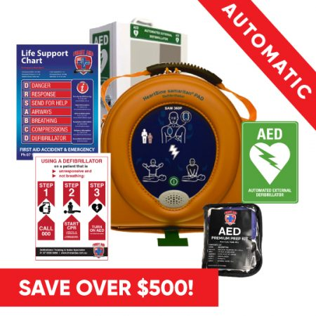 Heartsine 360P Pack Save Defibrillator