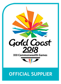 offical supplier of the Gold Coast Commonwealth Games