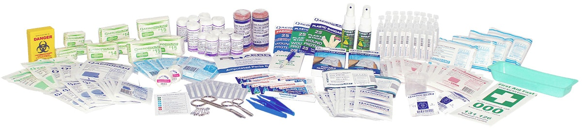 rugged workplace first aid supplies