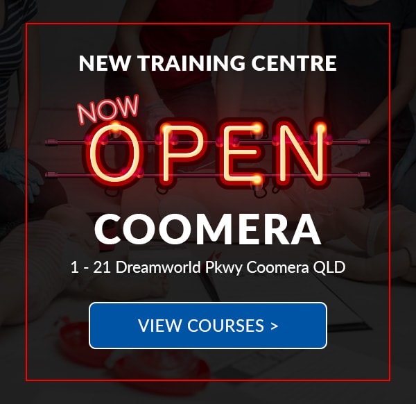 New First Aid Training Centre in Coomera