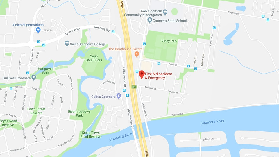first aid training centre coomera