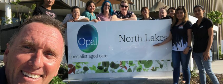 Opal Specialist Aged Care at North Lakes team