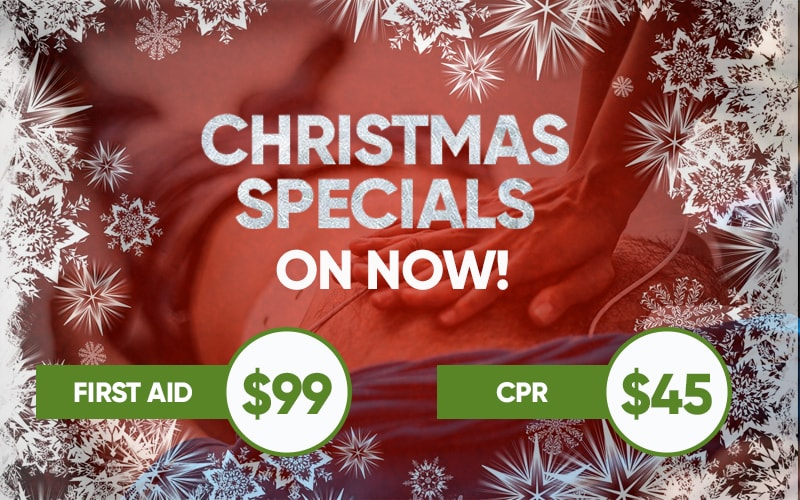 christmas special first aid courses
