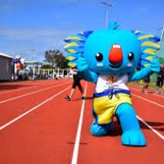 Borobi Running Track at Commonwealth Games
