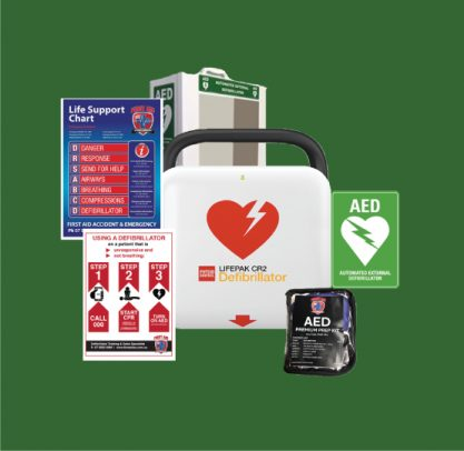 Lifepak CR2 Connect Defiibrillator Pack with Tough Case