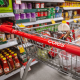 Coles Supermarket Trolley Close Up