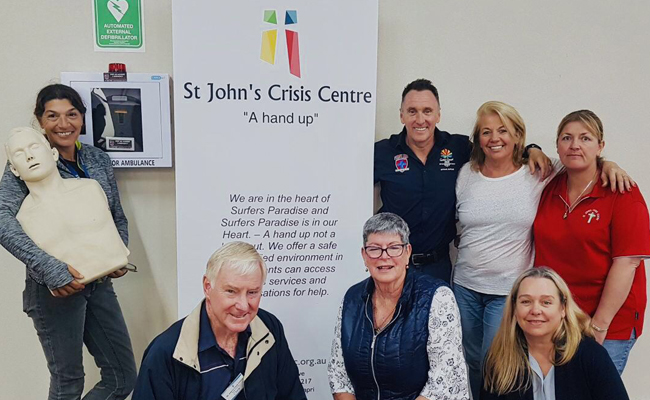 First Aid Accident and Emergency at the St John's Crisis Centre