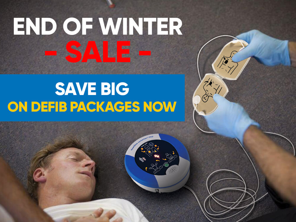 End of Winter Sale Save Big on Defib Packages Now