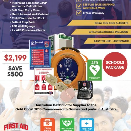 School Defibrillator Pack