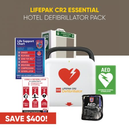 Defibrillator for Hotels