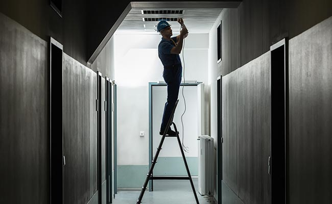 electrician-working